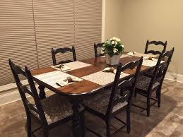 Painting Dining Room Table Refinish Dining Room Table Cost Best Gallery Of Tables Furniture