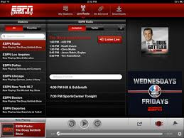 espn app for android espn radio for ios adds support android and windows phone