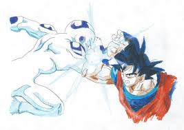 dragon ball goku frieza virtualdave26 deviantart
