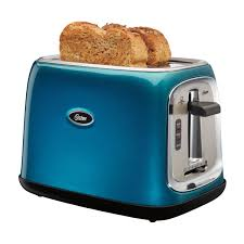 Toaster With Clear Sides 2 Slice Toaster Metallic Turquoise