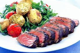 Balsamic Roast Beef In Oven Balsamic Lamb With Roasted Herb Potatoes