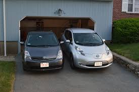 nissan leaf youtube review nissan leaf electric vs toyota prius hybrid which is lower on