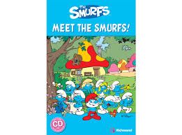 popcorn readers smurfs meet smurfs
