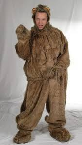 cowardly lion costume wizard of oz costume rental