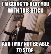 Unamused Black Girl Meme - i m going to beat you with this stick and i may not be able to