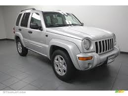 jeep liberty silver 2004 bright silver metallic jeep liberty limited 76389328
