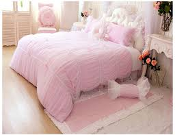 Girls Bedding Sets by Pink Luxury Girls Lace Ruffle Tulle Bowtie Princess Bedding Sets