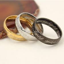 movie wedding rings images Movie men 39 s finger rings the one ring titanium stainless steel jpg