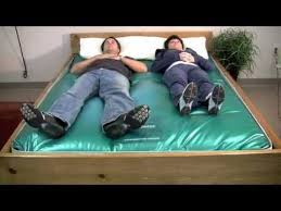 g600 waterbed mattress wave test youtube