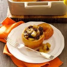 thanksgiving baked apples recipe taste of home