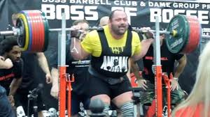 Biggest Bench Press In The World - watch powerlifter squats 1 036 pounds breaks world record