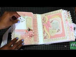 photo albums scrapbooks baby girl mini scrapbook album august 2015 mini albums