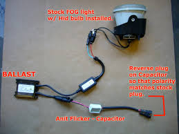 hid fog light ballast 300c srt8 stealth hid fog install with pics and video 8000k