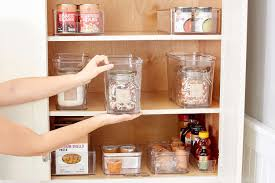 how to store food in a cupboard how to organize kitchen cabinets