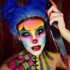 instagram insta glam halloween makeup halloween makeup 29 jaw dropping halloween makeup ideas scary clown makeup clown