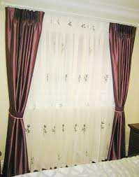 Purple Bedroom Curtains B0016 U2013 Purple Bedroom Curtain With Sheer