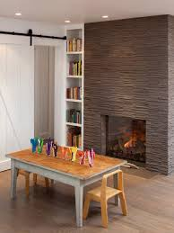 fireplaces stone brick and more hgtv