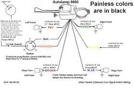 wiring diagram for universal turn signal readingrat net inside