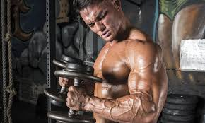 Bench Press For Biceps - serious pull for back u0026 biceps iron man magazine