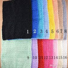 crochet headband tutu 12 inch baby girl elastic chest wrap infant waffle crochet