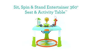 sit to stand activity table infantino sit spin stand entertainer 360 seat activity table