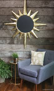 diy home decor sunburst mirror lia griffith