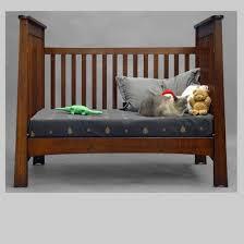 hand made quartersawn oak mackintosh convertible crib by dryad