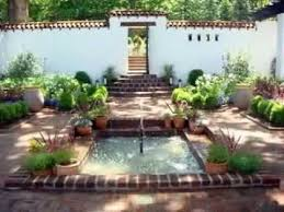 courtyard landscaping design ideas youtube