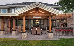 modern outdoor kitchen cabinets u shaped stone outdoor island