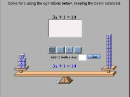 grade 7 unit 6 lesson 6 2 solving equations using the balance