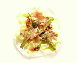 cuisiner les artichauts violets salade d artichaut violet au jambon cru 120 cook