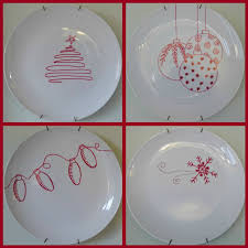 make your own christmas plates different spin on xmas crafts