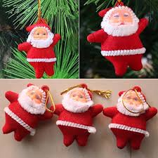 aliexpress buy 6pcs santa claus ornaments festival