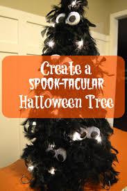 orange halloween tree create a spook tacular halloween tree mrs do it herself
