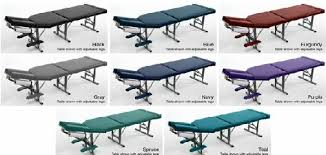 best portable chiropractic table tony portable tables colors