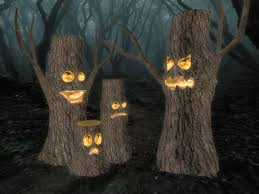 second life marketplace stumpy the spooky tree set of sculpted