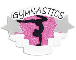 gymnastics ornament etsy
