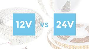 12 volt vs 24 volt led lights what s the difference