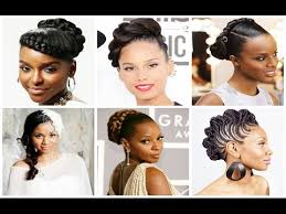 kenyan bridal hairstyles african american women braided hairstyles for weddings youtube
