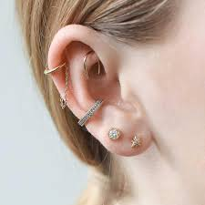 ear cuff images classic chain ear cuff maison miru