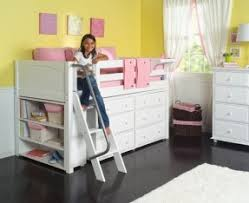 loft bed with dresser underneath foter