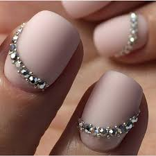 imagenes de uñas acrilicas con pedreria uñas con piedras 2018 uñas 2018