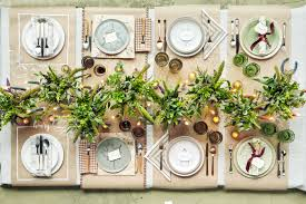 Beautiful Place Settings Thanksgiving Prep Time