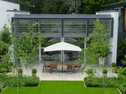 small courtyard designs patio contemporary with swan chairs 20 best contemporary and modern garden design style images on