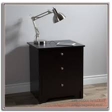 black and silver nightstand bedroom galerry