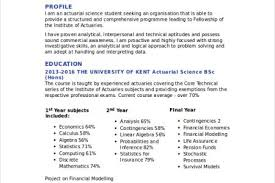 Technical Support Resume Sample by 12 Useful Materials For Actuarial Science Resume Entry Level