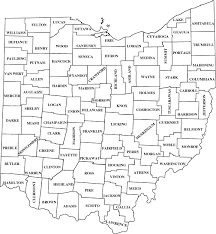 map of counties in ohio printable ohio map with cities view list of cuts by county as a