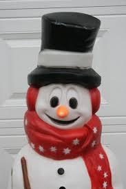 a snowman with an attitude