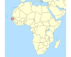 africa map gambia maps of gambia detailed map of gambia in tourist map