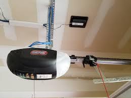 how do you install a garage door opener linear gocontrol garage door opener hometech how to